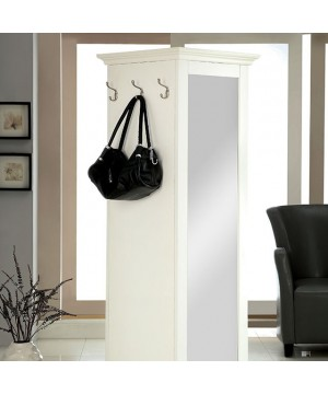 Somers Swivel Cabinet White