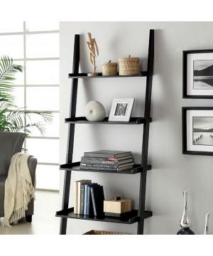 Sion Ladder Shelf Black