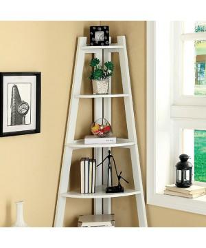 Lyss Ladder Shelf White