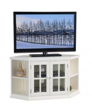"White 46"" Corner TV Stand..."