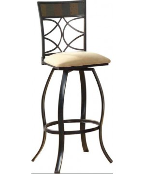 Acme Pansy Bar Chair with...