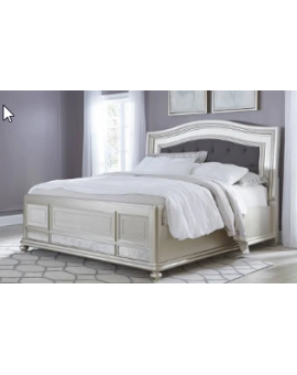 Coralayne King Panel Bed by...
