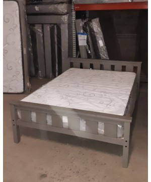 Full Size Bed in Grey -...