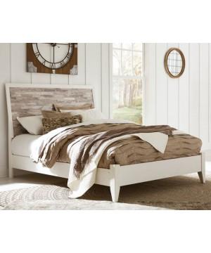 Evanni Queen Panel Bed -...