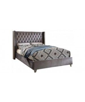 Florida Velvet Tufted Bed...
