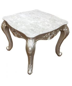 Emily Silver End Table by...