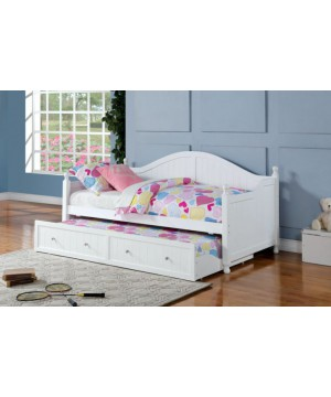 White Daybed Twin Size -...