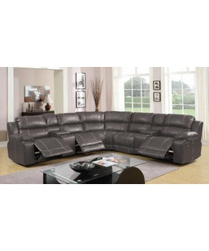 6 Pc Sectional with Console...