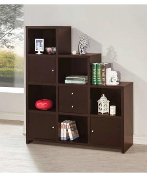 Bookshelf with Cube Storage...