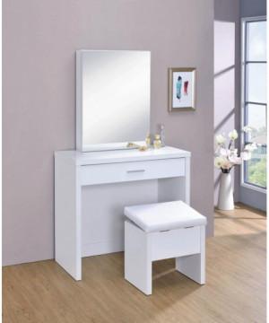 Contemporary White Vanity...